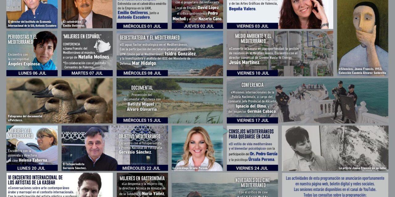 Art, fotografia i actualitat es donen cita en la programació de juliol de Casa Mediterráneo