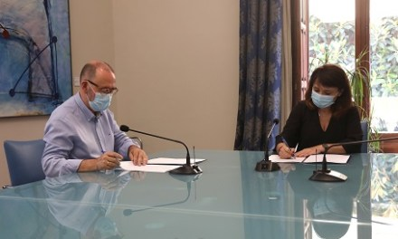 El MARQ y el Ayuntamiento de El Campello firman un convenio para promover la proyección del yacimiento de La Illeta