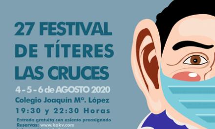"""El festival de títeres de """"Las Cruces"""" de Villena cambia de ubicación y duplica su programación"""