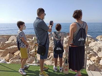 La regidoria de Turisme d'Altea valora positivament la campanya estival #PreparadosParaRecibirte