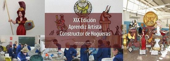 L'Agència Local de Desenvolupament d'Alacant convoca el XIX Curs d'Aprenent de Constructor de Fogueres