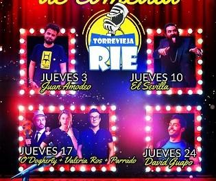 "Torrevieja celebra en septiembre el Festival ""Torrevieja Ríe"""