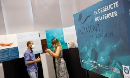 L'Alfàs acoge la exposición 'El Pecio Bou Ferrer. Un yacimiento extraordinario'