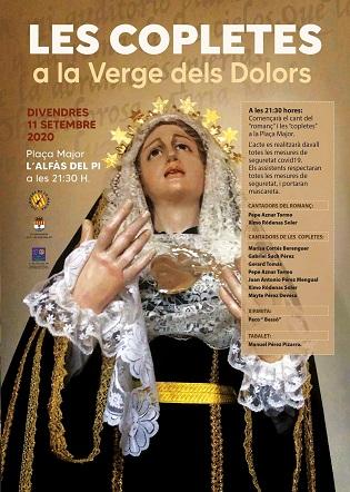 L'Alfàs celebra aquest divendres la festa de 'Les Copletes' sense danses i amb mesures anticovid