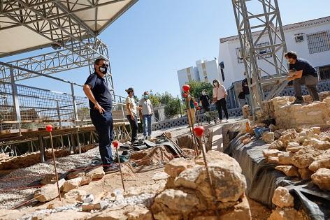 Últims preparatius per a l'ampliació del Museu de la Vila Romana de l'Albir a l'Alfàs del Pi