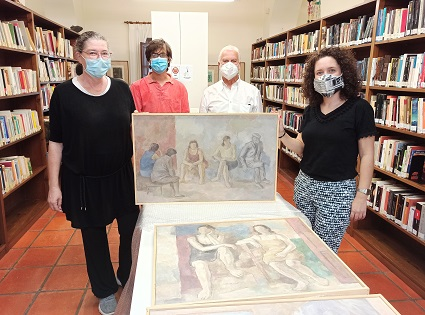 El fondo pictórico municipal de Altea se ve ampliado con obra de Rudolf  Schuler