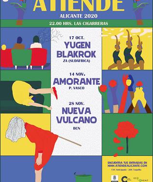 ATIENDE! 2020: nueva propuesta de conciertos singulares en Las Cigarreras