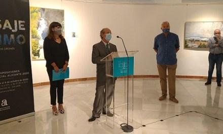 La Diputació inaugura l'exposició 'Paisatge Íntim' de l'artista alcoià Jorge Cerdà Gironés