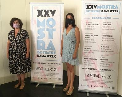 La regidoria de Cultura presenta la XXV Mostra de Teatre Dama d'Elx