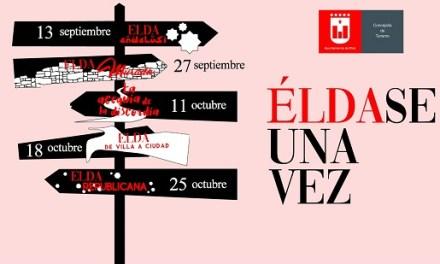 Turismo de Elda pone en marcha la quinta edición de las rutas 'Éldase una vez' que permiten conocer la evolución histórica de la ciudad