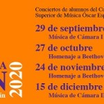 La Casa Bardín vuelve a acoger los ciclos musicales con alumnado del Conservatorio de música Óscar Esplá