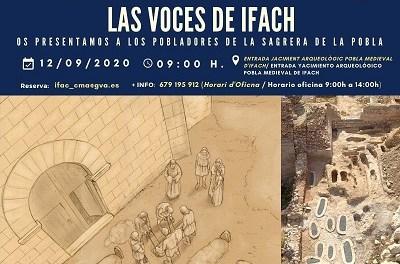 La Pobla Medieval de Ifach s'obri al públic aquest dissabte per a difondre les seues últimes troballes arqueològiques