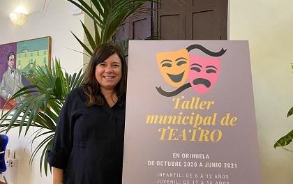 Cultura de Orihuela pone en marcha el taller municipal de teatro que se desarrollará de octubre a junio en el Teatro Circo