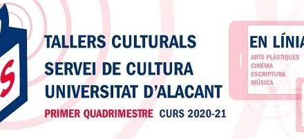 La Universidad de Alicante lanza su oferta de talleres culturales para el primer cuatrimestre del curso