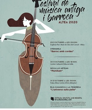 """El festival """"Música Antiga i Barroca"""" de Altea incluye un concierto teatralizado para público familiar"""