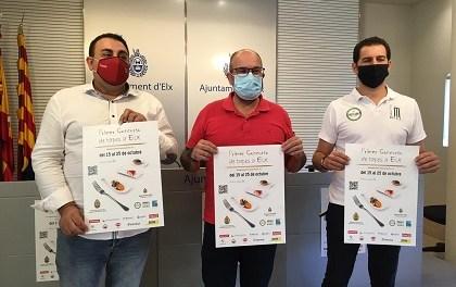 Comercio presenta el I Concurso 'De tapes a Elx' para apoyar a la hostelería local