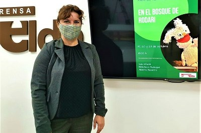El Ayuntamiento de Elda se suma a la celebración del Día de las Bibliotecas con la presentación de la última novela de Elia Barceló