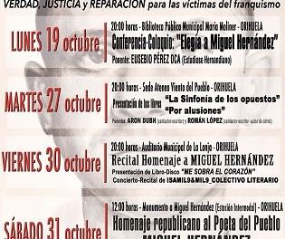 Este próximo martes se presentarán dos libros en el Ateneo Viento del Pueblo de Orihuela