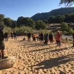 Tras la buena acogida de la ruta teatralizada del Arenal de l'Almorxó, Medio Ambiente de Petrer valora una tercera edición para el sábado 7 de noviembre