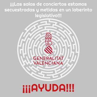 Las salas privadas de música en directo de la Comunitat Valenciana necesitan EQUIDAD y soluciones a su inestable situación
