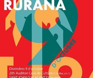 Urbàlia Rurana i Feliu Ventura en els concerts d'aquest cap de setmana organitzats per la Cívica – Escola Valenciana