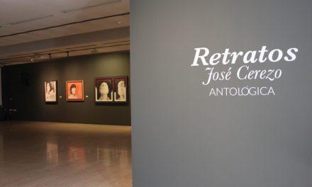 José Cerezo exhibe «Retratos. Antológica» en el Museo de la Universidad de Alicante
