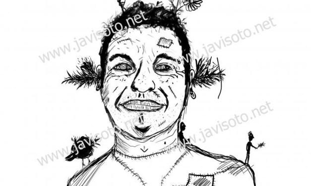 Javi Soto expone en la UA «La ventana de Joseph» de ilustración digital