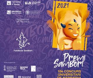 Las Universidades Públicas Valencianas convocan el Premi Sambori 2021 de narrativa corta en valenciano