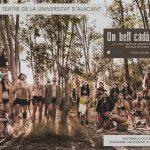 El Aula de Teatro de la Universidad de Alicante estrena hoy «Un bell cadàver» en el Paraninfo con las entradas agotadas