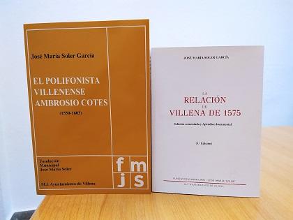 EL'Ajuntament de Villena i Fundació José María Soler reediten l'obra esgotada 'Relació de Villena de 1575', primer intent de cens de municipis en el regnat de Felip II