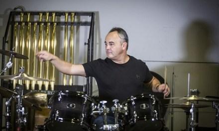 """Javier Eguillor estrena mundialmente el """"Concierto para batería"""" de David Mancini con una gira"""