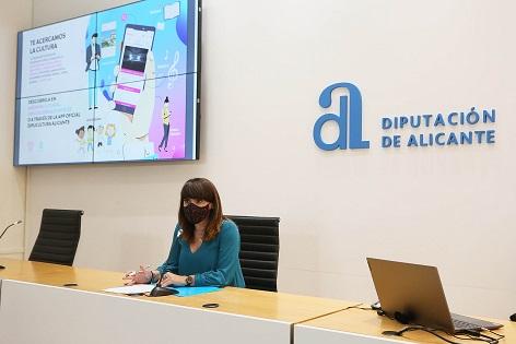 La Diputación da un paso más hacia la digitalización con la puesta en marcha de la primera aplicación de la Agenda Cultural