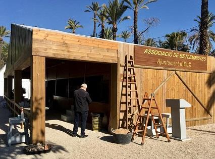 El Belén Municipal de Elche abrirá el 9 de diciembre en el Hort del Xocolater y se podrá acceder con reserva