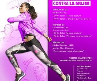 """Finestrat organiza un programa de talleres titulados """"Mujer y deporte"""" con motivo del 25n"""