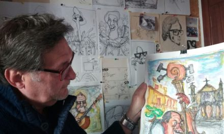 Luis Mac-Beath llega a LOBLANC con sus viñetas de siempre para reflexionar sobre la cultura