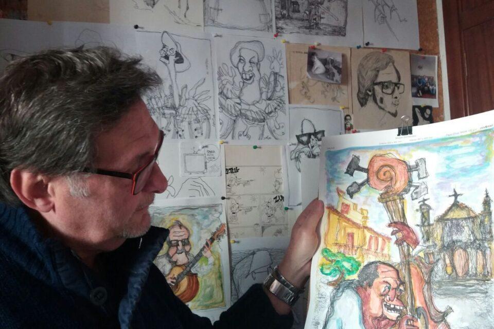 Luis Mac-Beath arriba a LOBLANC amb les seues vinyetes de sempre per a reflexionar sobre la cultura