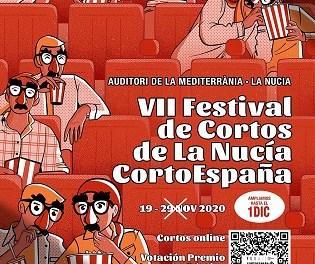 El VII Festival de Cortos de La Nucía amplía su duración hasta el 1 de diciembre incluido