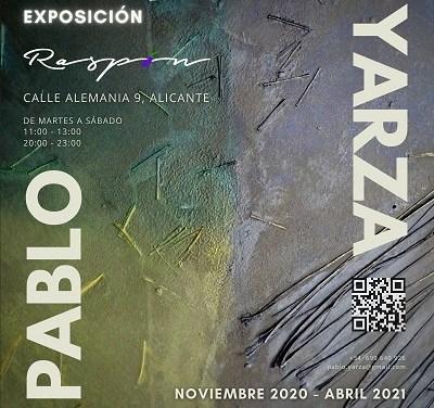 """L'Exposició """"Relaciones"""" de Pablo Yarza en el restaurant Raspón d'Alacant"""