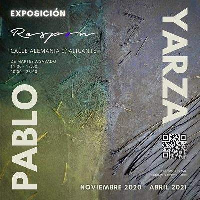 """La Exposición """"Relaciones"""" de Pablo Yarza en el restaurante Raspón de Alicante"""