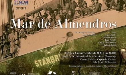 """El Centre Cultural Verge del Carmen acull el divendres, 6 de novembre, l'obra de teatre """"Mar de almendros"""""""