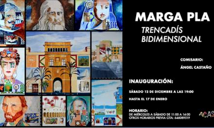 """Inauguración de """"Trencadís bidimensional"""" de Marga Pla en la Galería ACAS de Elche"""