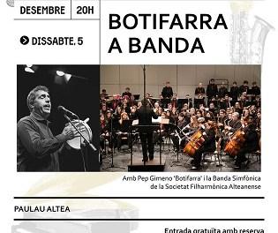 """Altea despide su Capitalidad Cultural con un concierto de Pep Gimeno """"Botifarra"""" y la Sociedad Filarmónica Alteanense"""