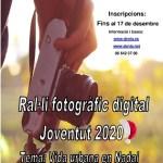 El Rally fotográfico digital Juventud 2020 se dedica a la temática de la vida urbana en Navidad