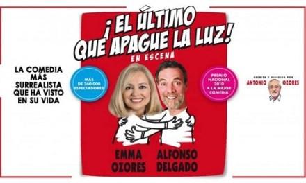 La obra 'El último que apague la luz' de Antonio Ozores llega este fin de semana al Gran Teatro de Elche