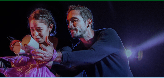 La poética del teatro gestual de Zero en Conducta llega este fin de semana en el Teatre Arniches