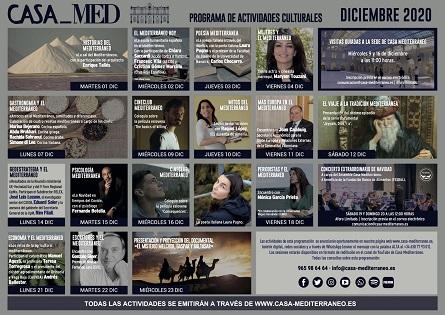 El Ensemble Casa Mediterráneo torna amb un concert extraordinari de Nadal a benefici del Banc d'Aliments