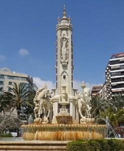 Un total de nueve empresas optan al concurso municipal para rehabilitar la emblemática fuente de Luceros de Alicante