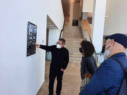 "El fotógrafo Carlos Balsalobre presenta ""Wallscapes"" en el Palau Altea"
