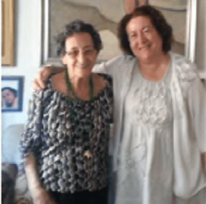 Francisca Aguirre y Consuelo Jiménez de Cisneros