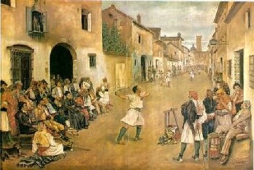 Joc-de-pilota-del-pintor-Josep-Bru-i-Albinyana